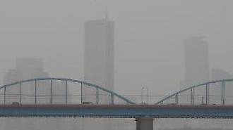 专家:政府如不采取有效对策 5年后韩国大气质量将不如中国