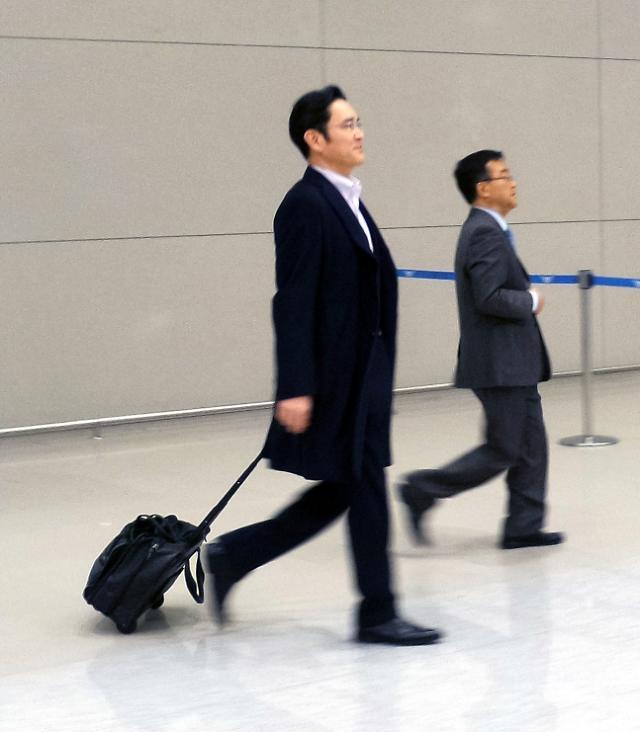 三星电子副会长李在镕结束海外出差 何时重返经营一线引关注