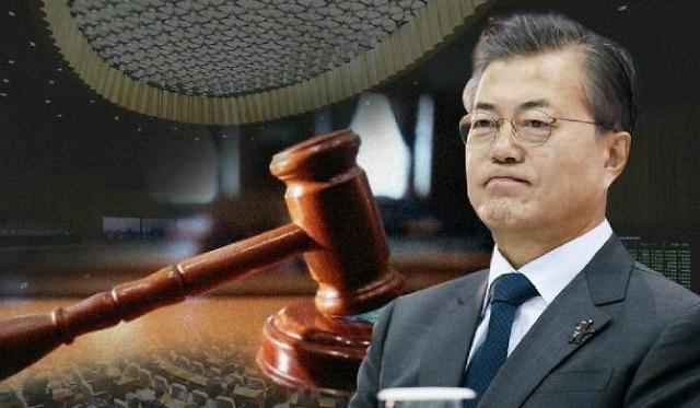 韩青瓦台吁国会24日前修改《公投法》