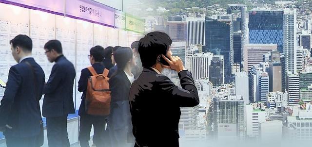 <快讯>韩3月就业人口同比增11.2万人 失业率4.5%
