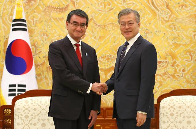 青瓦台:韩中日领导人会议5月在日本举行