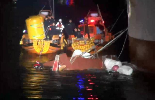 一艘渔船在新安附近海域与坦桑尼亚渔船相撞 造成1人死亡5人失踪