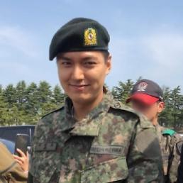 .李敏镐结束军事训练 将继续以社会要员身份服役.