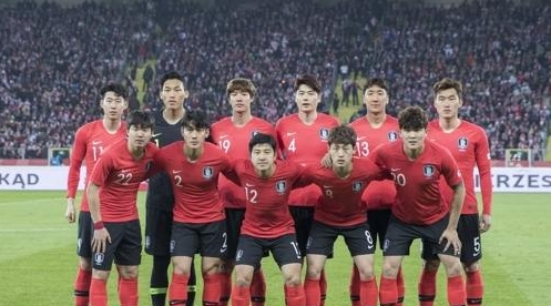 下降啦!韩国国足最新FIFA下滑2位至第61