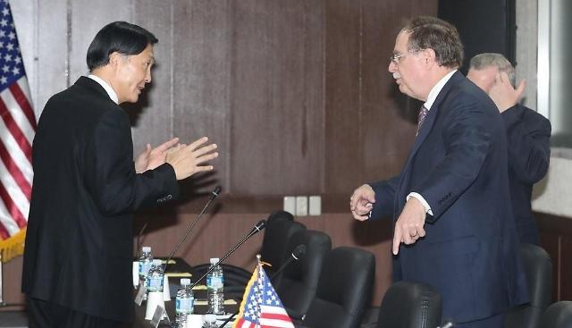 美国要求韩国分担战略武器出动费用