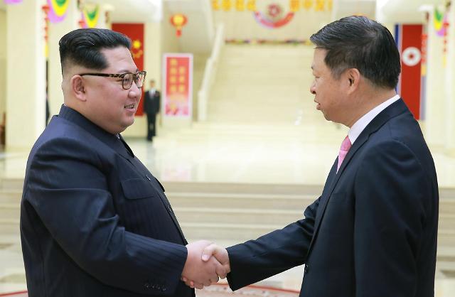 金正恩接见宋涛就重大问题交换意见 南北本周开会筹备首脑会谈