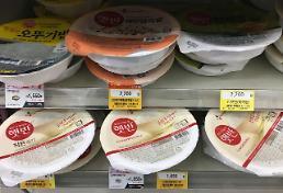 .韩加工食品价格上涨.