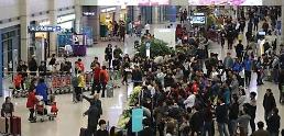 .3月访韩中国人增加 时隔1年多超40万.