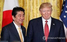 .Trump offers blessing to Korean peace treaty: Yonhap.