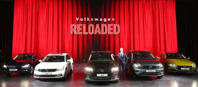 Volkswagen hopes to regain consumer confidence with new models: Yonhap