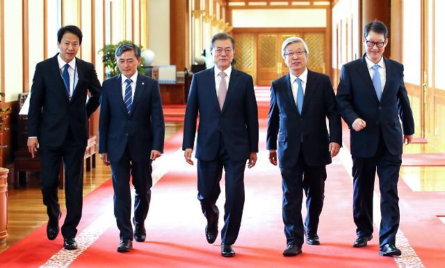 文在寅:朝鲜无核化意愿明确,应签订和平协定