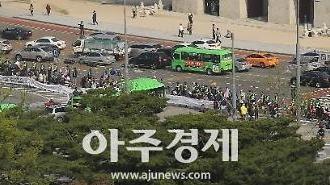 [포토] 전국장애인차별철폐연대 광화문 행진