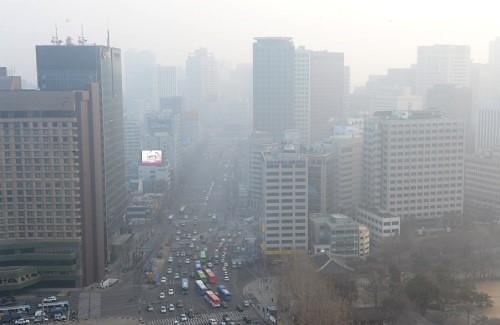 韩中共治大气污染项目全面启动 12家韩企参加