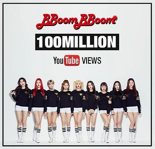 MOMOLAND单曲《BBoom BBoom》MV点播量过亿