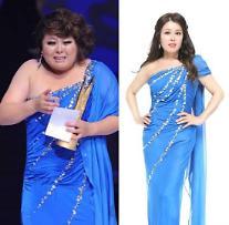 홍지민 다이어트 전후 사진보니…네티즌 외모가 너무 아름다워요