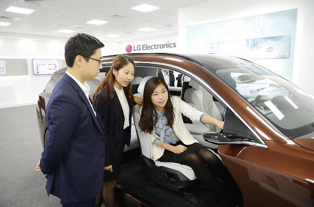 LG电子参加2018北京国际车展