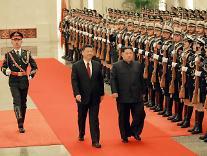 [남북정상회담 D-1] 김정은 위원장, 국군 의장대 사열 받는다