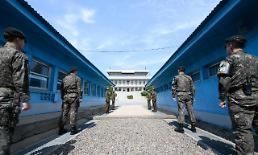 .Koreans await historic summit on rapprochement in truce village .