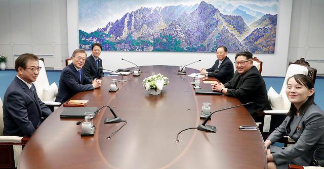 韩朝首脑会谈上两次提到中国