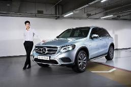벤츠, 친환경 SUV GLC 350 e 4매틱' 국내 출시
