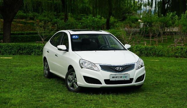 现代汽车悦动EV进入中国当地生产