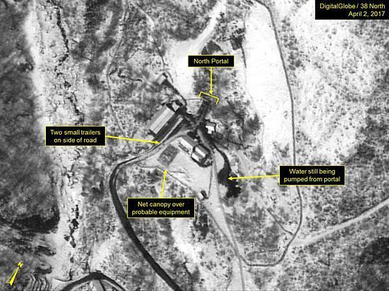 朝鲜拆除丰溪里核试验场电缆 开始履行首脑会谈共识