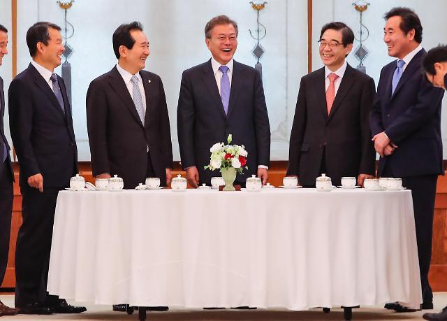 韩朝美首脑或于年内共同宣布结束半岛战争状态
