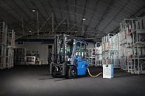 """コーロン、電気商用車事業に始動…""""BYDフォークリフト、今年400台の販売目標"""""""