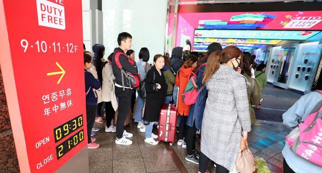 消息:中国武汉赴韩随团游解禁