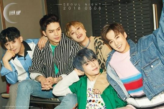 TEEN TOP新专辑再与勇敢的兄弟携手创作 将于8日回归乐坛