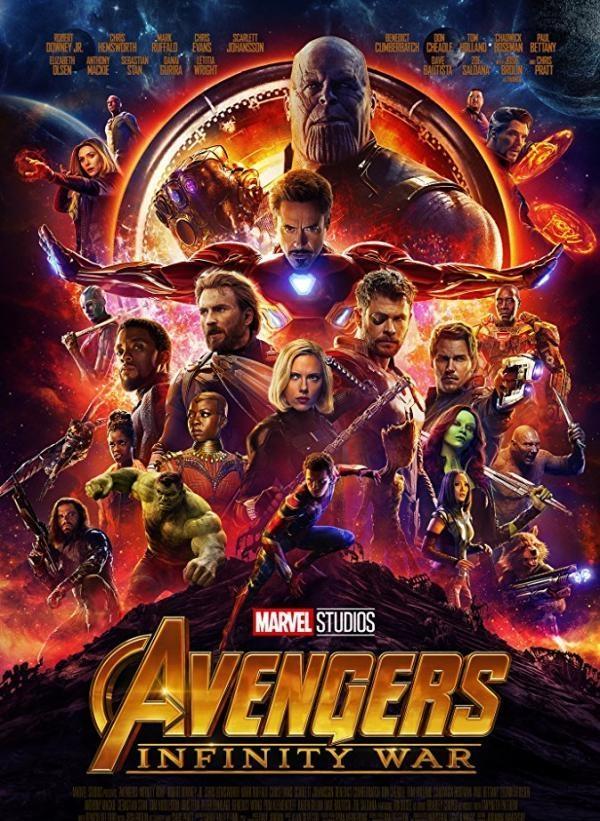 《复仇者联盟3》在韩上映13天观影人数突破900万
