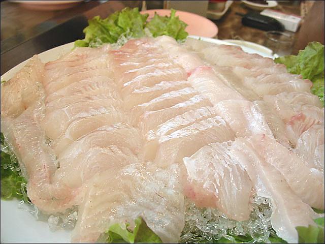 韩国人平均每月吃两三次生鱼片 最喜偏口鱼