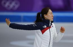 .Ice skating sprinter Lee Sang-hwa uses idol music for pre-race routine.