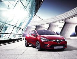 ルノーサムスンの小型車「CLIO」、国内発売開始・・・価格はフランスより1千万ウォン割安