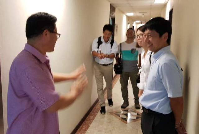 金特会进入倒计时 朝鲜驻新加坡大使馆一片繁忙