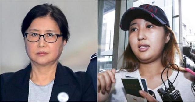 韩国亲信干政案崔顺实母女时隔1年半首次会面