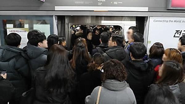 首尔市民上下班时间最久 平均为96.4分钟