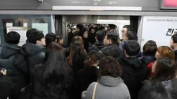 .首尔市民上下班时间最久 平均为96.4分钟.
