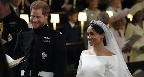 영국 해리 왕자·메건 마클, 전 세계 축복 속 '세기의 결혼식'