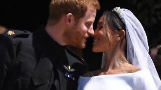 [포토] '해리왕자·마클' 행복한 결혼식