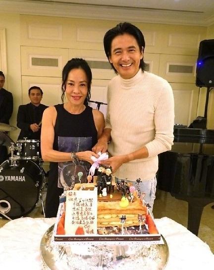 [중국포토] 63세 생일 맞은 주윤발, '영원한 홍콩 오빠'