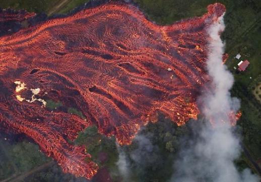 [포토] 마그마 흐르는 하와이