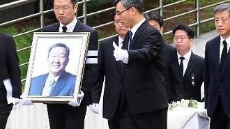 [포토] 故구본무 LG 회장 발인식