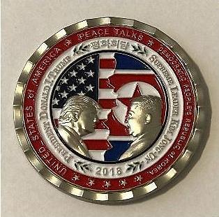 [포토] 북미정상회담 기념주화