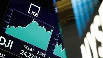 [글로벌 증시] 美 금리인상 가속화 우려 완화로 ↑…유럽, 무역갈등 재부상에 하락