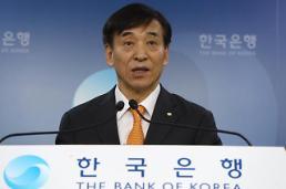 .韩国央行维持基准利率1.50%不变.