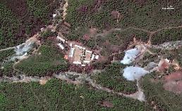 .朝鲜炸毁坑道拆除核试验场.