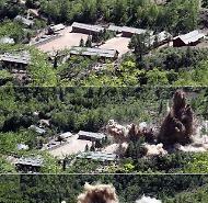 [포토] 한국취재단이 본 풍계리 핵실험장 폭파