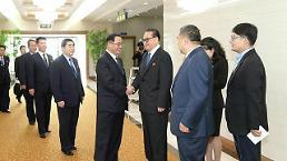 .朝鲜劳动党参观团结束访中行程回国.