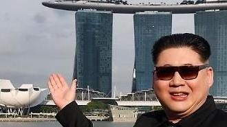 [포토] 싱가포르 가짜 김정은